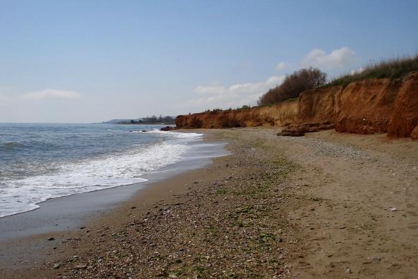 A photo of the Nea Chili (Kalamaki) Beach at Alexandroupoli.