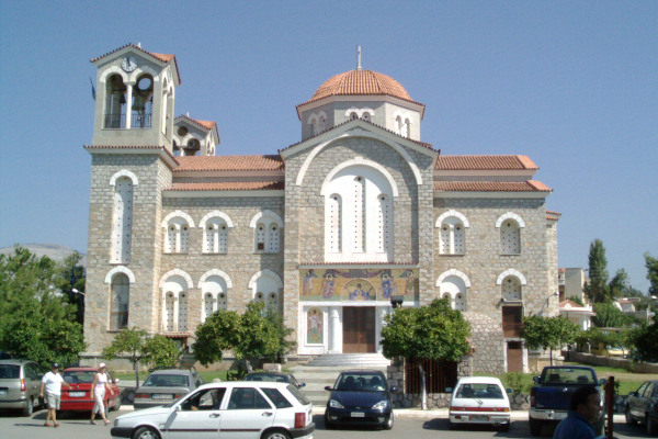 The Metropolitan Church of Amarynthos dedicated to the Virgin Mary.