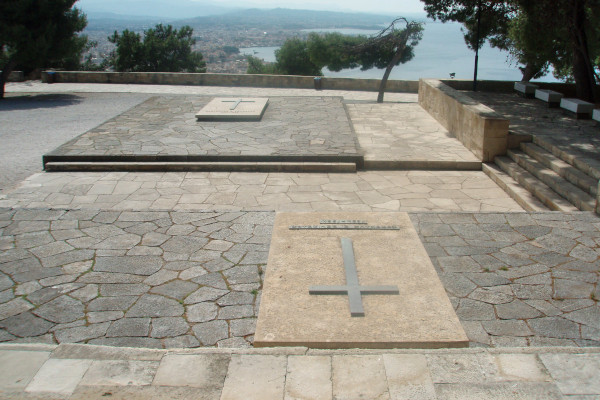An image showing the Venizelos Graves and the amazing view of Chania city in the background.