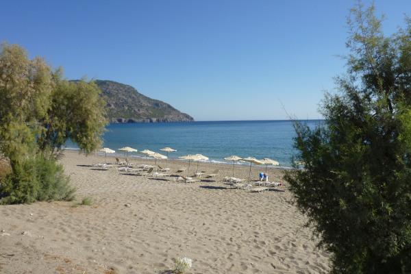 A picture of Limniatis Beach in Pigadia of Karpathos.