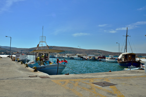 An image of the Moudros Port on Lemnos island.