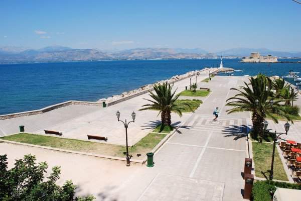 A part of the Port of Nafplio.