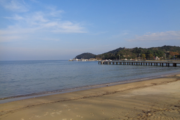 A photo of the Olympiada Beach of Halkidiki.
