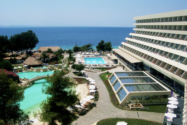 A photo showing a part of the facilities of the Porto Carras Hotels.