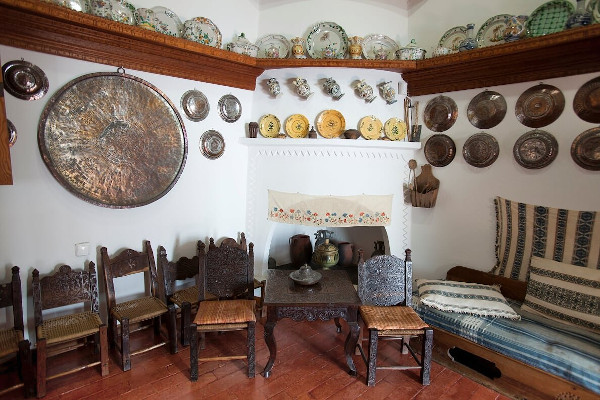 One of the rooms of the «Faltaits» Historical & Folklore Museum of Skyros.