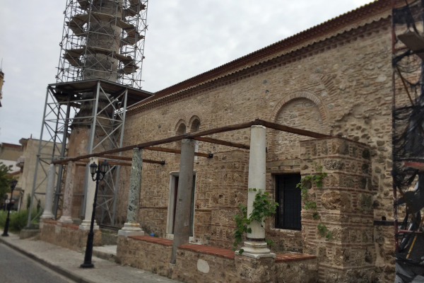 A picture of the exterior of the Old Cathedral & Metropolis of Veria.