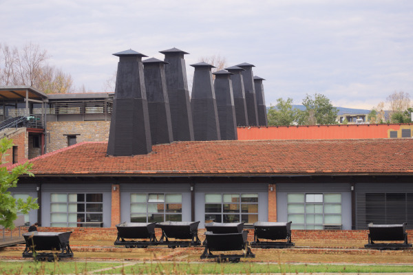 A picture showing the exterior of the Rooftile and Brickworks (Tsalapatas) Museum of Volos.